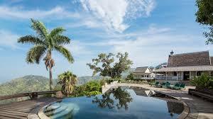 best luxury hotel resorts in jamaica strawberry hill hotel