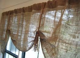 Kitchen Valance Ideas Burlap Drapes Kitchen Valance Patterns Bag Curtains To Burlap