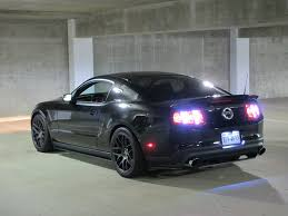 mustang led tail lights upgraded brighter led bulbs for tinted taillights the mustang