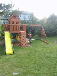 Backyard Discovery Monticello Backyard Discovery Cedar View Playset From Bj U0027s Wholesale