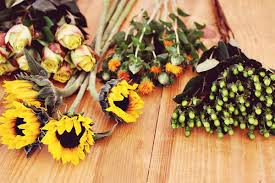 Sunflower Wedding Bouquet How To Grow Your Own Wedding Flowers Bridalguide