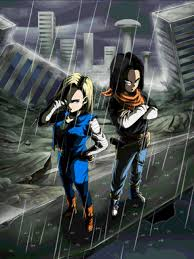 android 17 and 18 androids 17 e 18 future and