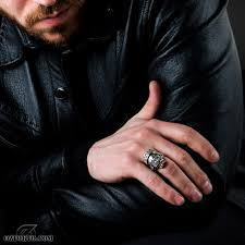 big male rings images Crownskull zirconia rings by bigblackmaria online boutique jpg