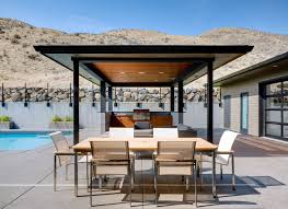 Outdoor Kitchen Designs With Pizza Oven by Modern Patio With Pathway By First Lamp Zillow Digs Zillow
