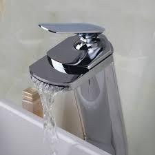 Waterfall Faucet Online Get Cheap Bathroom Sink Glass Mixer Tap Torneira
