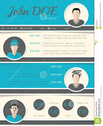 modern resume layout modern resume curriculum vitae template with circle shapes stock circle curriculum resume template