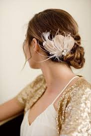 feather hair clip 14 diy feather hair accessories suggestions diy to make