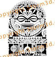 forearm tattoo samoan tribal style patterns symbols high quality