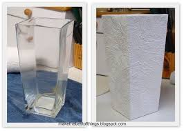Painting Over Textured Wallpaper - can you paint over vases and change their color to match your new