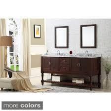 Overstock Bathroom Vanities by Bathroom Vanities U0026 Vanity Cabinets Shop The Best Deals For Oct
