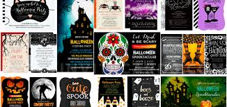 fun scary u0026 unique halloween invitations partyinvitecards the