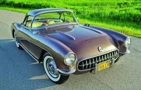 56 corvette stingray authentically aztec 1956 chevrolet corvette havin hemmings