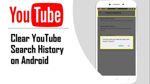 clear history android how to clear search history on android