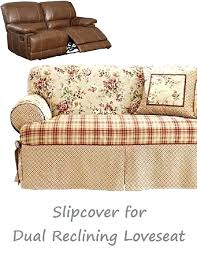 dual reclining sofa covers bethweisser page 36 slipcover for reclining loveseat