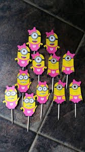 best 25 minion cupcake toppers ideas on pinterest minion