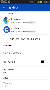 office365 android apps galaxy aos 365