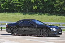 bentley dark green 2019 bentley continental gtc spied testing with sporty styling