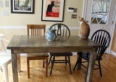 How To Build A Rustic Dining Room Table Diy Friday Rustic Farmhouse Dining Table Rustic Dining Tables