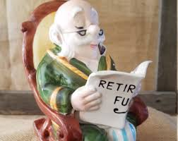 Old Man In Rocking Chair Rocking Chair Bank Etsy