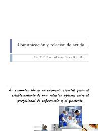 comunicación y relación de ayuda