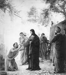 Christ Healing The Blind Faith In Jesus Christ