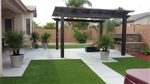 Astro Turf Backyard Phoenix Yard Designs Waterfalls Fountains Artificial Turf