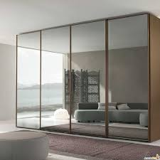 Closet Door With Mirror Mirrored Sliding Closet Doors With Puff And Sofa Also Cushion