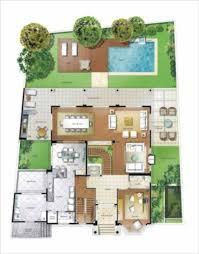 Top 14 modelos de plantas para sítios com varanda e piscina @PV07
