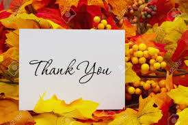 a thank you letter a few days after thanksgiving