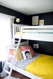 girls house bunk bed house tour the u0027s shared room via jen lula richardson