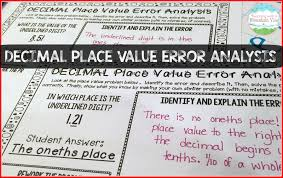 decimal place value resources u0026 teaching ideas teaching with a