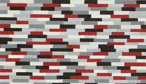 Geometric Fabrics Upholstery Red Grey Upholstery Fabric By The Yard Modern Black White