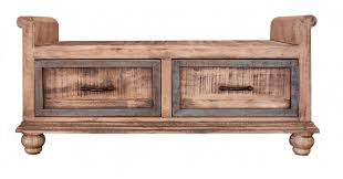 Bedroom Bench With Drawers International Furniture Direct Praga Bedroom Bench With 2 Drawers