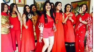 themes for kitty parties in india radhe maa theme based kitty party new trend in town youtube