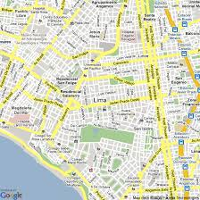 lima map map of lima peru hotels accommodation