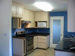 Kitchen Paint Idea Kitchen Painting Idea Cobalt Blue Color On The Walls
