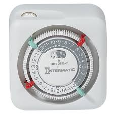 Intermatic 24 Hr Outdoor Timer by Intermatic Tn111k 15 Amp Lamp And Appliance Timer Amazon Com