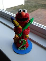elmo cake topper custom elmo cake topper