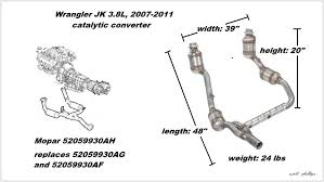 jeep wrangler jk 2007 to present how to replace catalytic