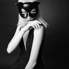 leather mask e l f zhou london cat leather mask brigade mondaine boutique