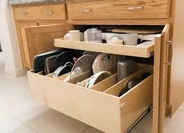 Kitchen Cabinet Sliding Organizers - sliding drawers for kitchen cabinets home design ideas