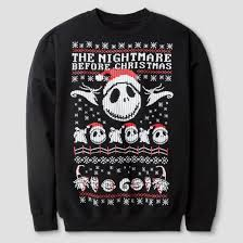 boys the nightmare before sweatshirt black target