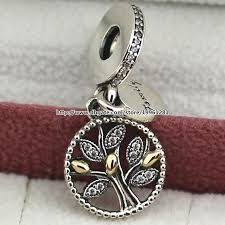 pandora bead charm necklace images 925 sterling silver 14k real gold family heritage dangle charm jpg