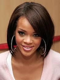cute bob hairstyles for black hair google search rihanna