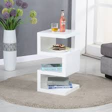 White Side Tables For Living Room Wonderful White Side Table Ideas For Modern Homes Trends4us