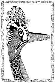 84 best coloring kangaroo ostrich images on pinterest kangaroos