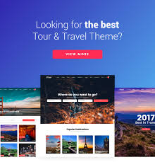 tour travel agency altair theme by themegoods themeforest