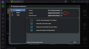 bluestacks settings how can i change bluestacks language keyboard settings
