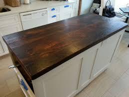 Kitchen Island Wood Countertop 21 Best Reclaimed Countertops Images On Pinterest Reclaimed Wood