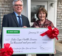 outer cape health services receives gift from delta dental